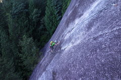 Rock Climbing Photo: Some coffee and slab make for a nice start to the ...
