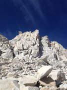 Rock Climbing Photo: We started climbing in the center of this photo, l...