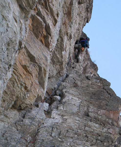 Rock Climbing Photo: RampArt (FA Aguinaga 2014)