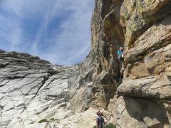 Rock Climbing Photo: Not Afraid