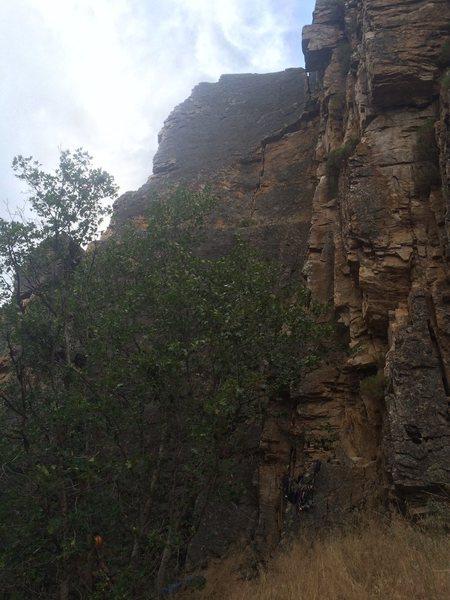 Rock Climbing Photo: W/o lines