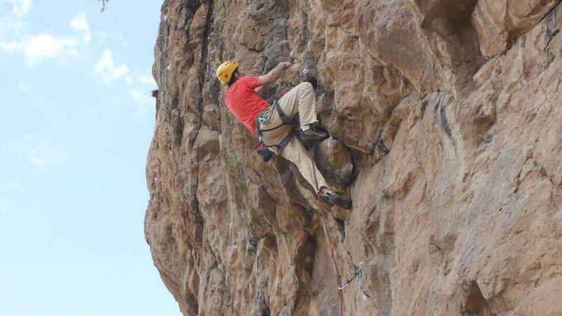 Rock Climbing Photo: Coffee Ceremony roof