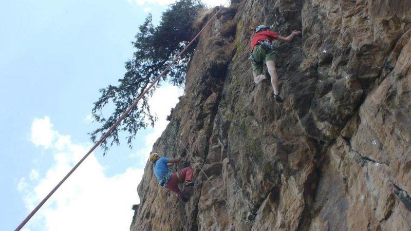 Rock Climbing Photo: Giorgis 64 and Coffee Ceremony (r)