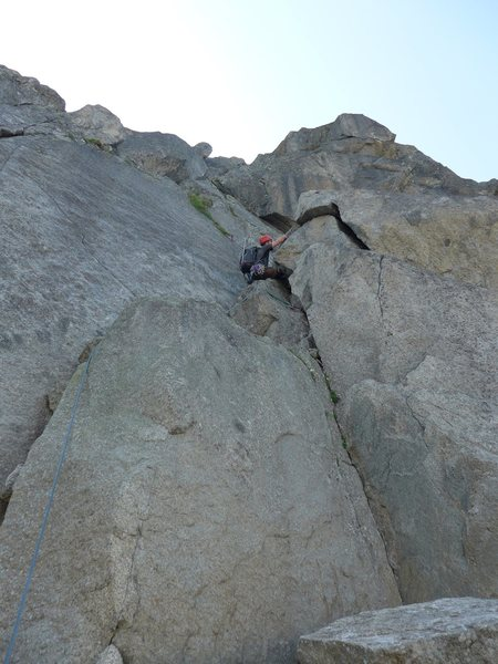 P1 (note: there is additional scrambling required after this initial pitch)