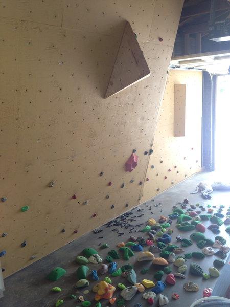 Rock Climbing Photo: Wall!