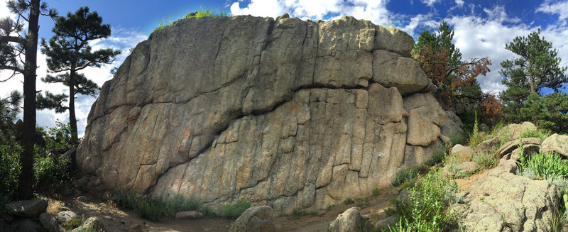 The Dome Boulder.