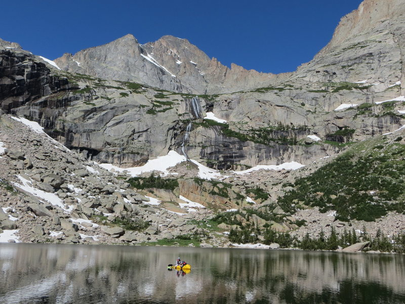 Rock Climbing Photo: Black Lake, RMNP