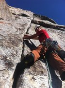 Rock Climbing Photo: Getting ready to sink my mitts into the perfect sp...
