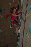 Kassi Kuss,5, gym rat and dirtbag climber