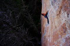 Rock Climbing Photo: Jody on Left El Shinto