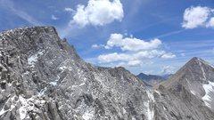 Rock Climbing Photo: Mt Abbot on 12 July 2015