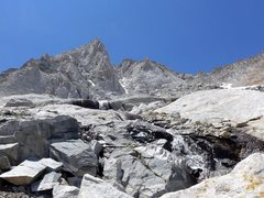 Rock Climbing Photo: N Arete of BCS on 15 Jul 2015