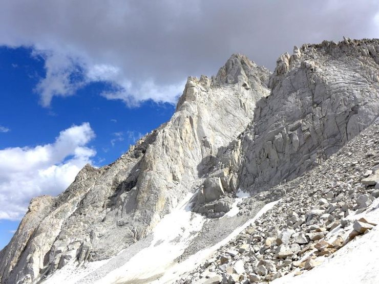 another view of the N Arete of BCS on 15 Jul 2015