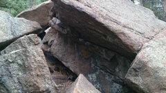 Rock Climbing Photo: The cave.