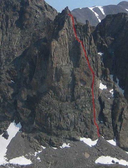 Rock Climbing Photo: South Buttress.