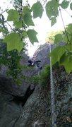 Rock Climbing Photo: Chimney magic