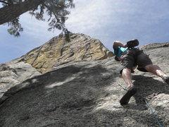 Rock Climbing Photo: L.R.