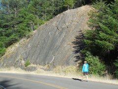 Rock Climbing Photo: Owl Slab.