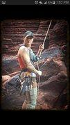 Rock Climbing Photo: Belay face