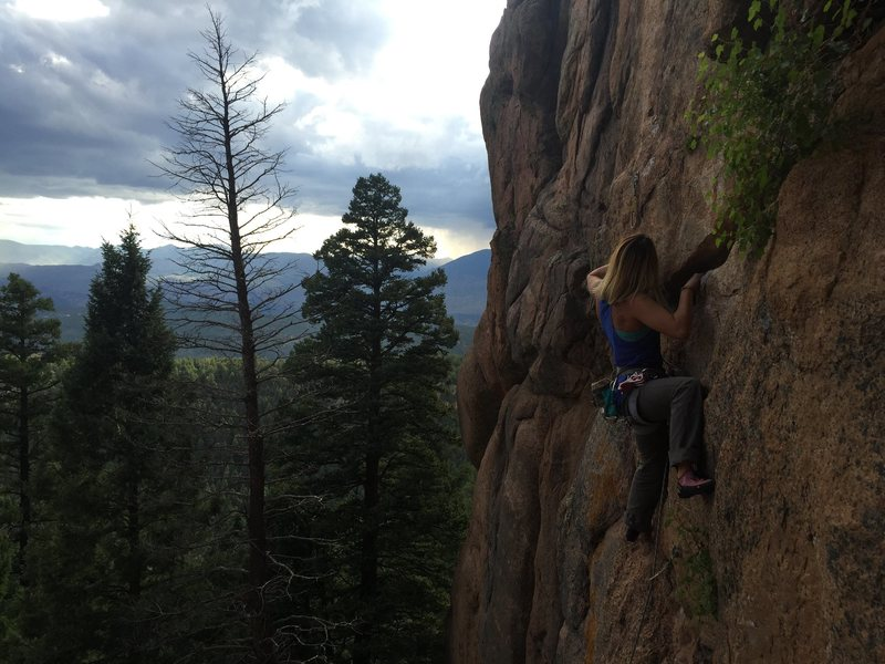 Rock Climbing Photo: Refiner, Radio Head. South Platte!
