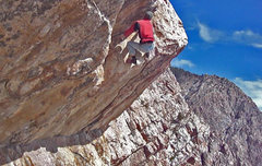 Rock Climbing Photo:  Foops roof,.. 3rd in the series....