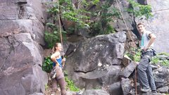 Rock Climbing Photo: Something 5.10b