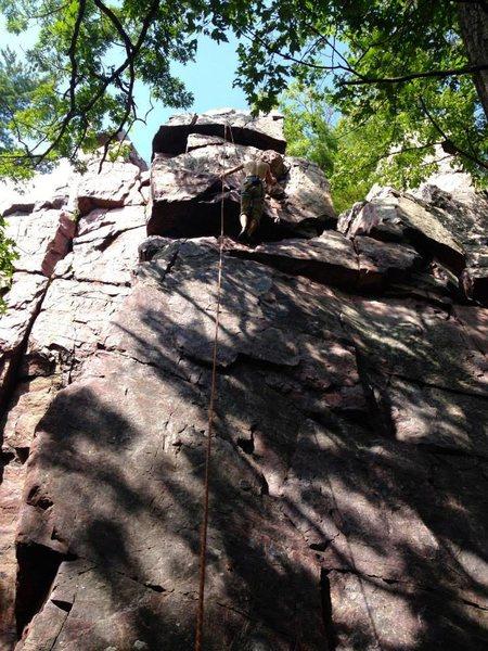 Rock Climbing Photo: Queens Throne