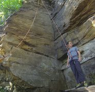 Rock Climbing Photo: Mossy Gully