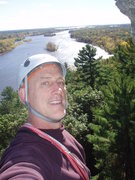 Rock Climbing Photo: Above the Wisconsin River Necedah Wi
