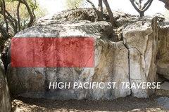 Rock Climbing Photo: High Pacific Street Traverse