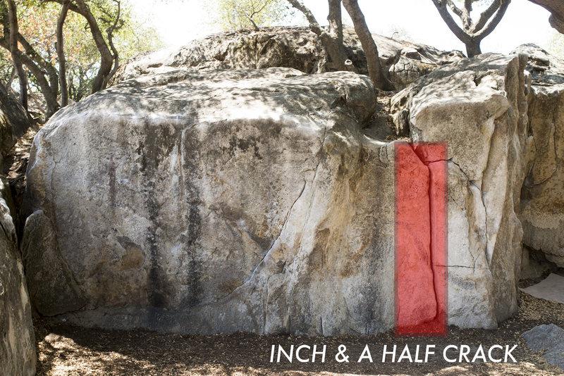 INCH & A HALF CRACK