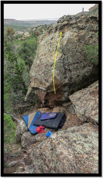 Rock Climbing Photo: Walking Through Windows problem beta.