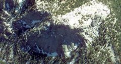 Rock Climbing Photo: The view from above courtesty of Google Earth, Tah...
