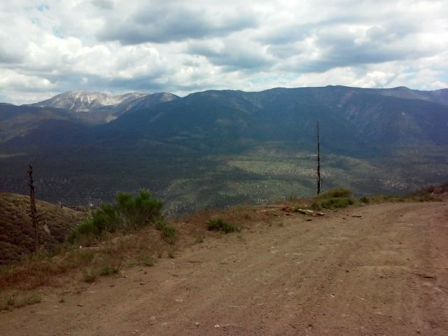 Mt. San Gorgonio from FR 2N06, San Bernardino Mountains