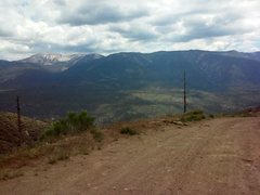 Rock Climbing Photo: Mt. San Gorgonio from FR 2N06, San Bernardino Moun...