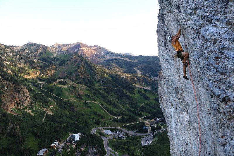 Rock Climbing Photo: Hellgate Cliffs, LCC Photo: Garrett Bentley