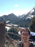Rock Climbing Photo: Me in Big Cottonwood