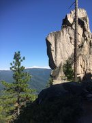 Rock Climbing Photo: droopy arete project!
