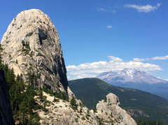 Rock Climbing Photo: domeface and shasta