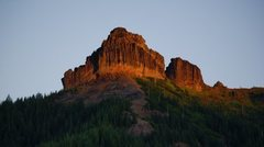 Rock Climbing Photo: Sunrise at Pinto (East Face)
