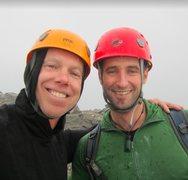 Rock Climbing Photo: Top of Professor Falls, Bow Valley, CA