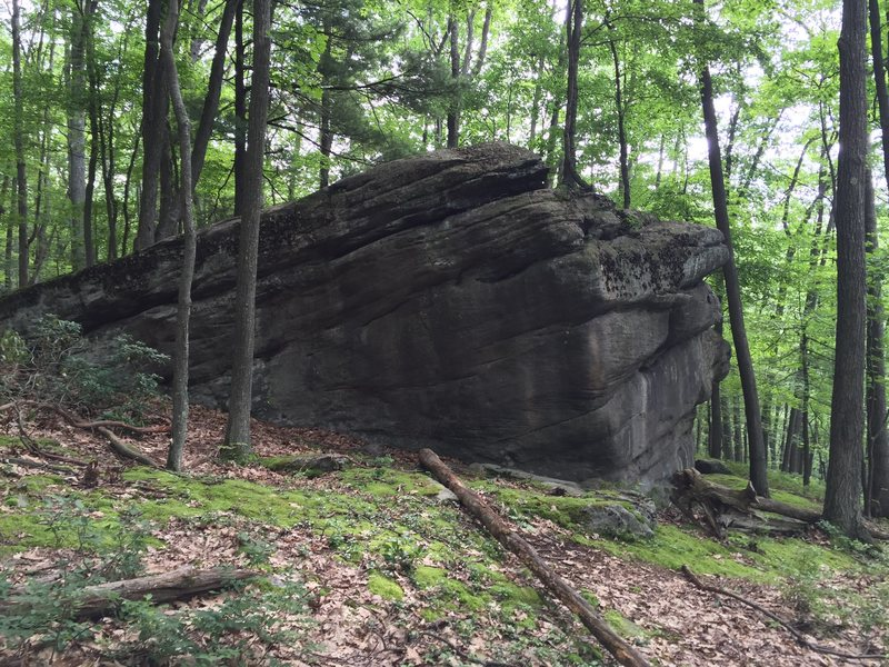 Rock Climbing Photo: Many large boulders like this are in the park with...