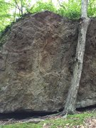 Rock Climbing Photo: Another boulder with a couple of V0-V1 problems on...
