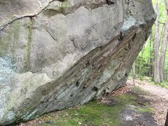 Rock Climbing Photo: Larger boulder with at least 3 established problem...