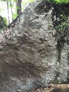 Rock Climbing Photo: V0 boulder problem