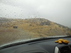 Rock Climbing Photo: Welcome rains from tropical storm Dolores mean  no...
