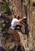 Rock Climbing Photo: bat out of hell E56a Higger tor