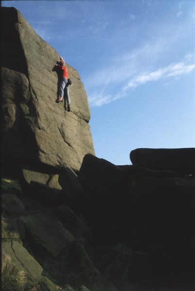 E5 at stanage