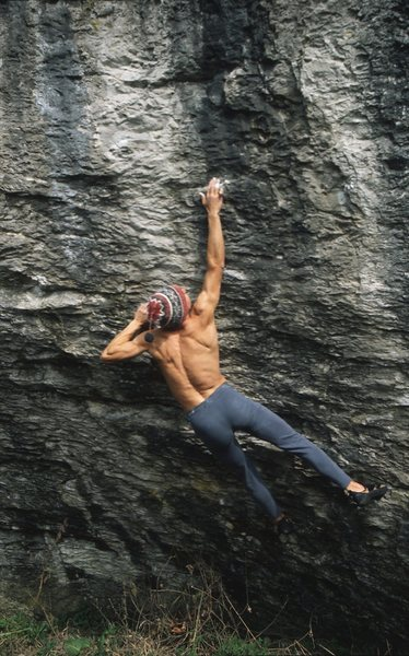 Rock Climbing Photo: the press