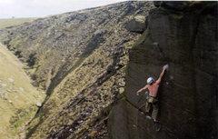 Rock Climbing Photo: It Hurts , E77A, unrepeated